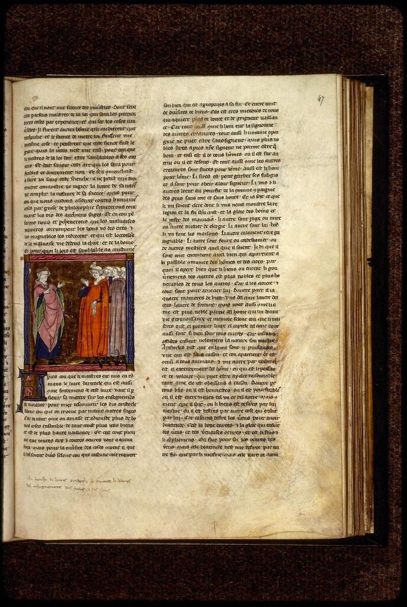 Lyon, Bibl. mun., ms. 0948, f. 047 - vue 1