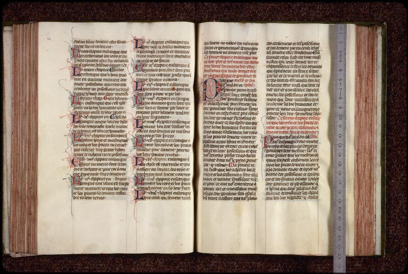 Lyon, Bibl. mun., ms. 0951, f. 090v-091 - vue 1