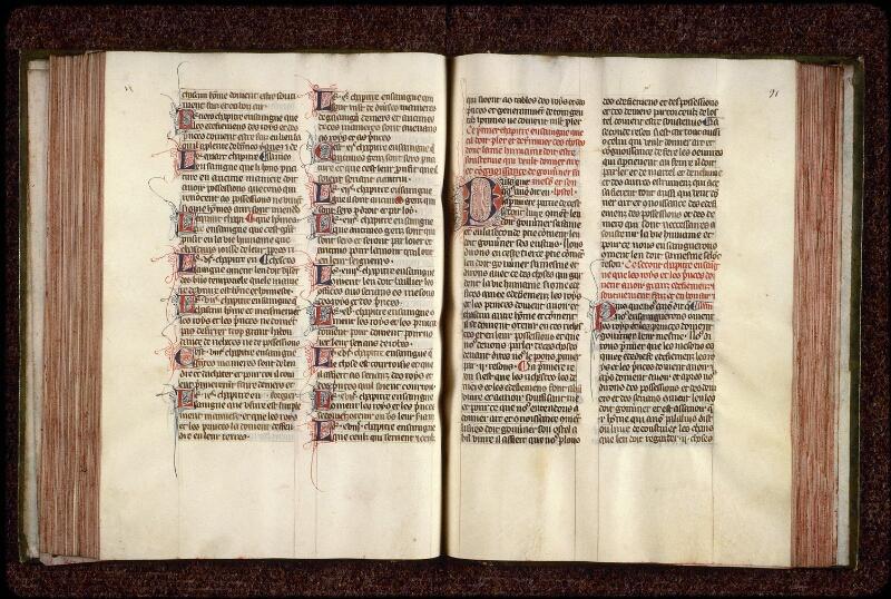 Lyon, Bibl. mun., ms. 0951, f. 090v-091 - vue 2