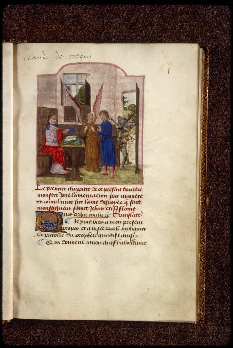 Lyon, Bibl. mun., ms. 1233, f. 003 - vue 1