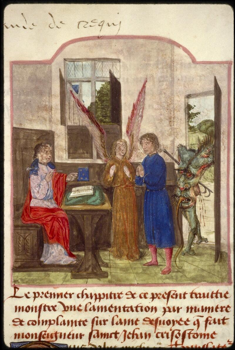 Lyon, Bibl. mun., ms. 1233, f. 003 - vue 2