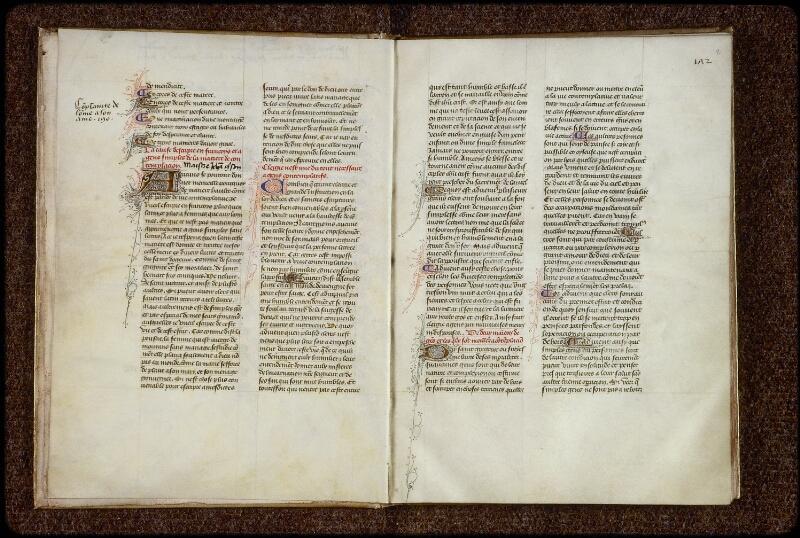 Lyon, Bibl. mun., ms. 1249, f. 001v-002 - vue 2