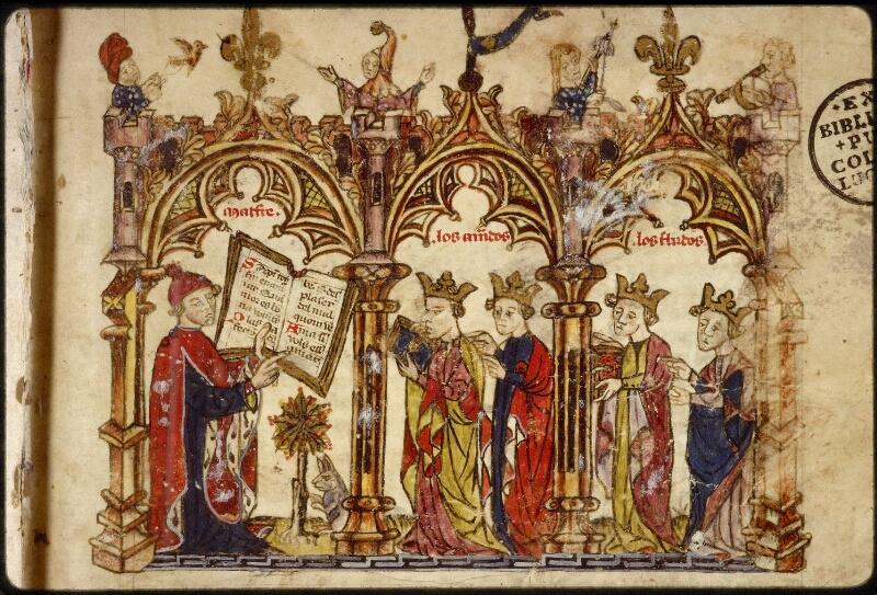 Lyon, Bibl. mun., ms. 1351, f. 001 - vue 3