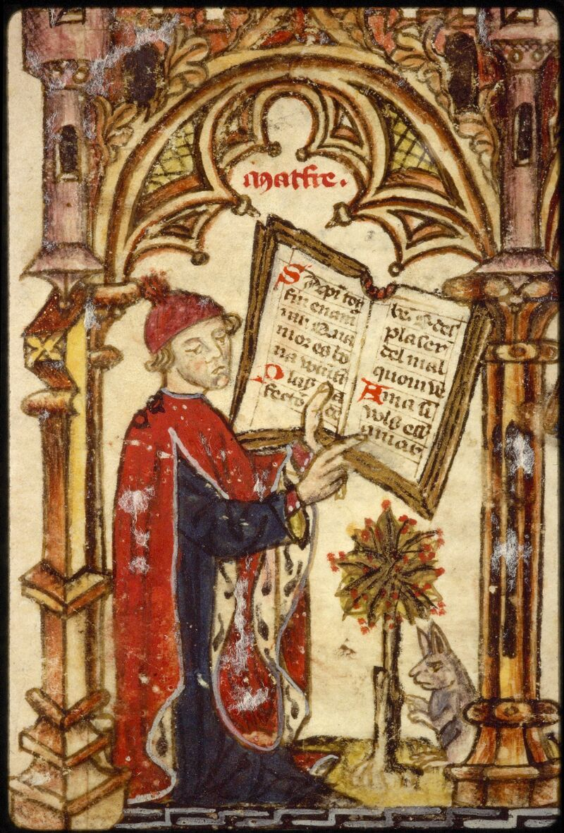 Lyon, Bibl. mun., ms. 1351, f. 001 - vue 4