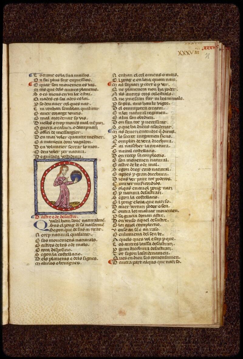 Lyon, Bibl. mun., ms. 1351, f. 031 - vue 1