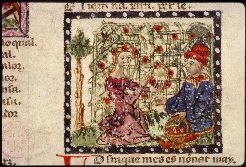 Lyon, Bibl. mun., ms. 1351, f. 039v - vue 3