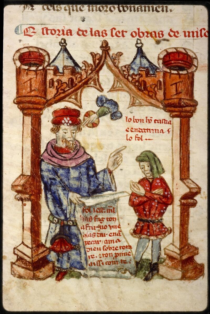 Lyon, Bibl. mun., ms. 1351, f. 061v - vue 2