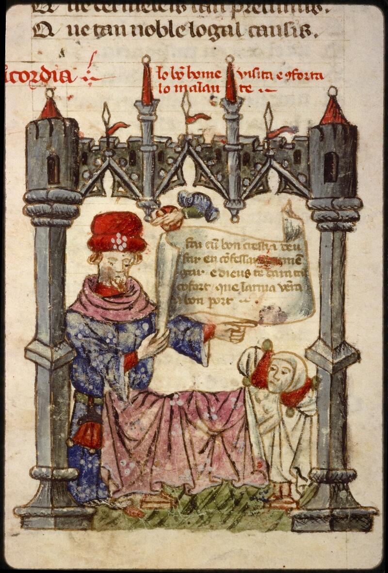 Lyon, Bibl. mun., ms. 1351, f. 061v - vue 3