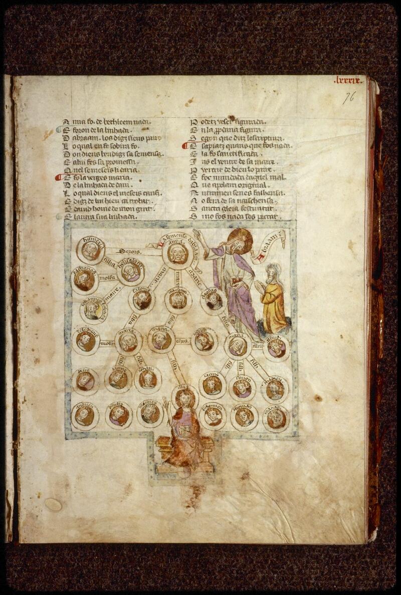 Lyon, Bibl. mun., ms. 1351, f. 076 - vue 1