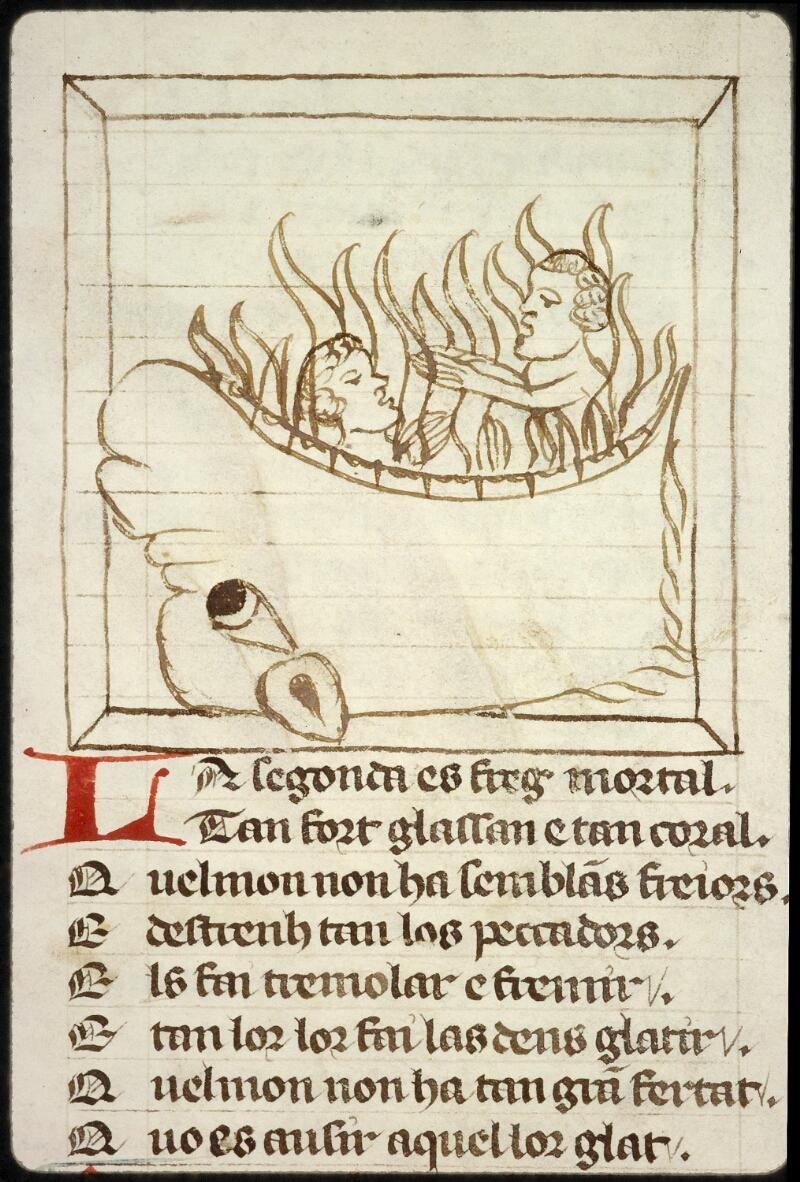 Lyon, Bibl. mun., ms. 1351, f. 100v - vue 1