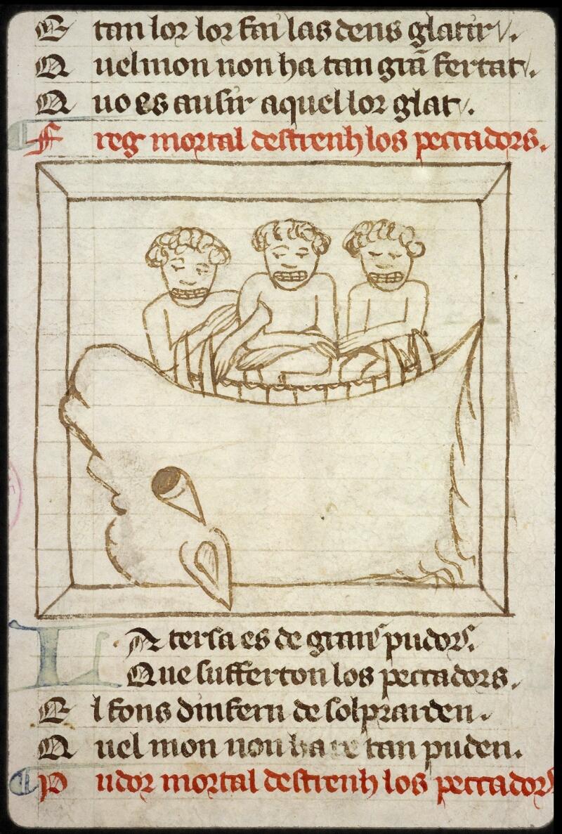 Lyon, Bibl. mun., ms. 1351, f. 100v - vue 2