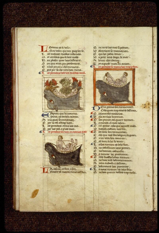 Lyon, Bibl. mun., ms. 1351, f. 101v - vue 1