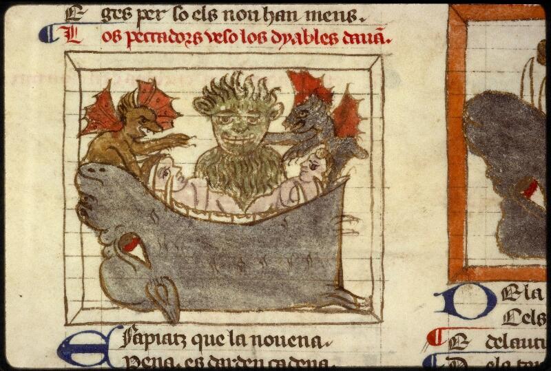 Lyon, Bibl. mun., ms. 1351, f. 101v - vue 2