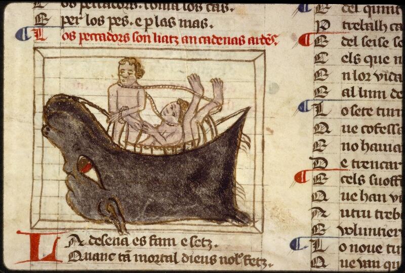 Lyon, Bibl. mun., ms. 1351, f. 101v - vue 3