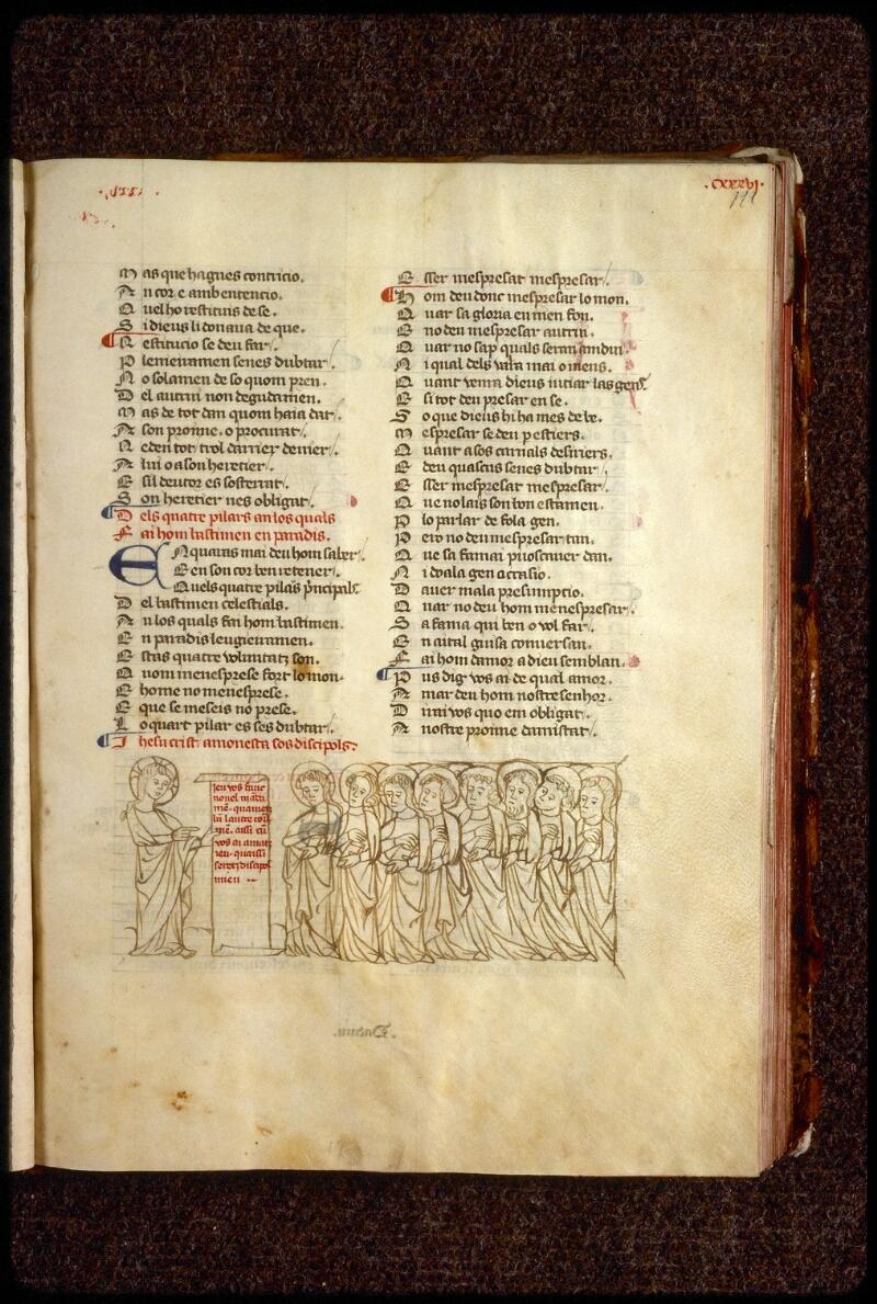Lyon, Bibl. mun., ms. 1351, f. 122 - vue 1