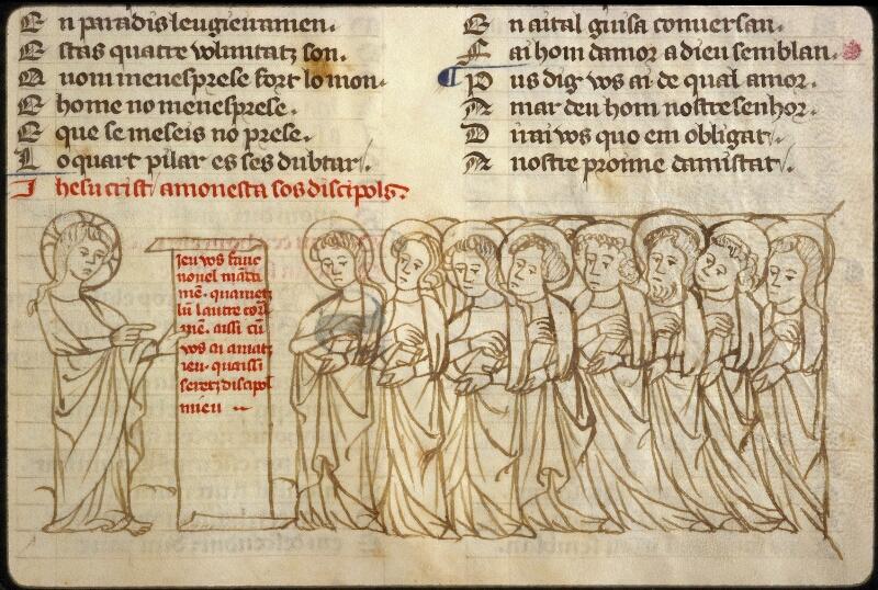 Lyon, Bibl. mun., ms. 1351, f. 122 - vue 2