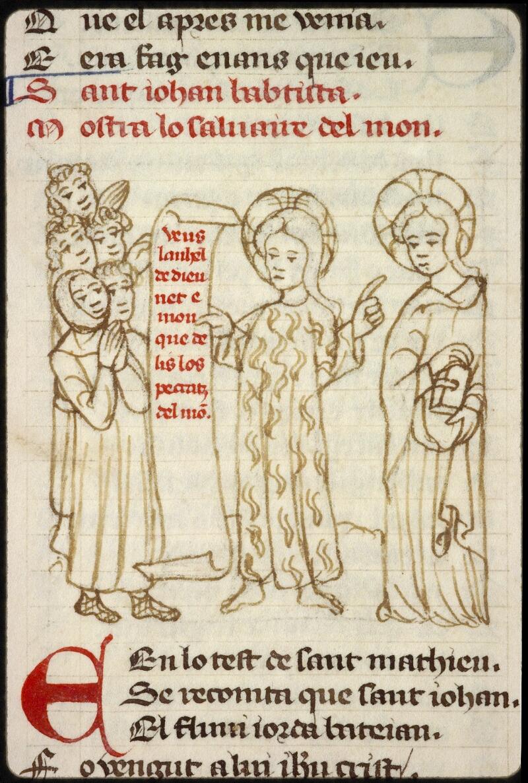 Lyon, Bibl. mun., ms. 1351, f. 141v - vue 1