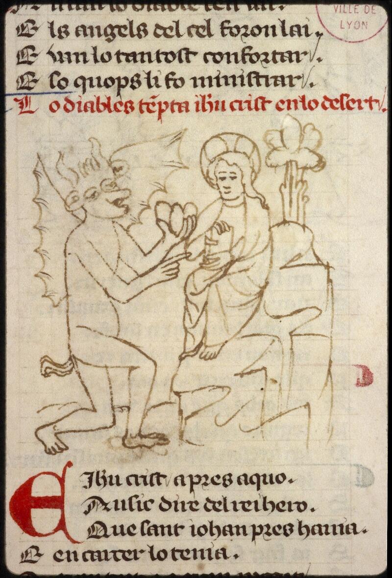 Lyon, Bibl. mun., ms. 1351, f. 142 - vue 1