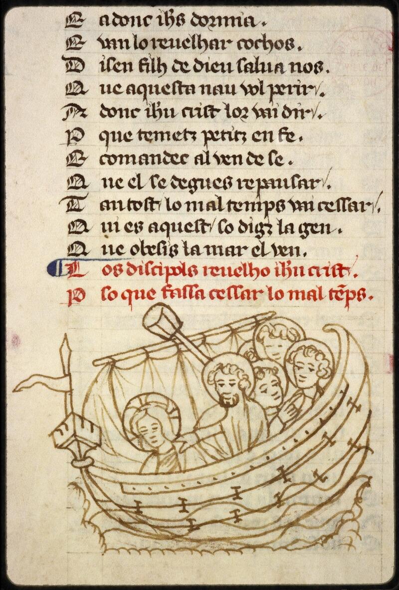 Lyon, Bibl. mun., ms. 1351, f. 144 - vue 2