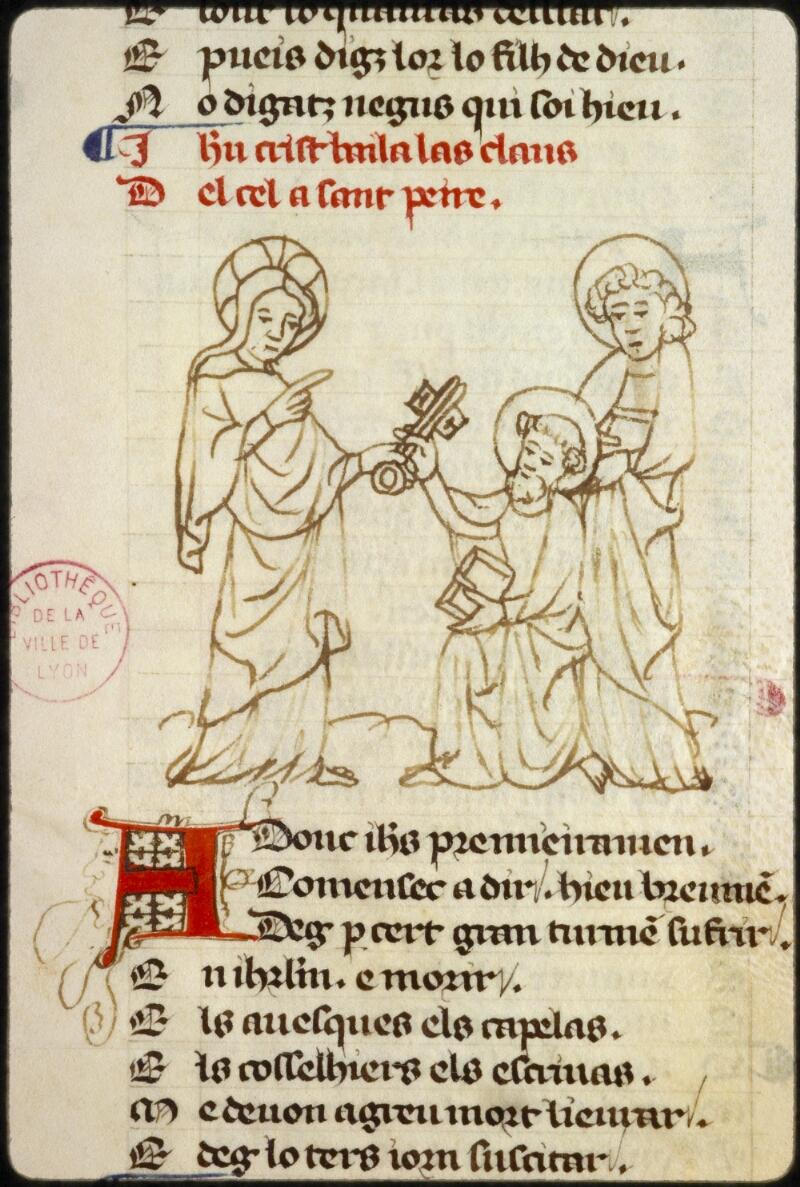 Lyon, Bibl. mun., ms. 1351, f. 146 - vue 2