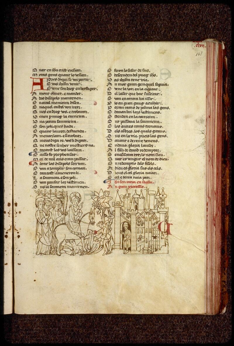 Lyon, Bibl. mun., ms. 1351, f. 148 - vue 1