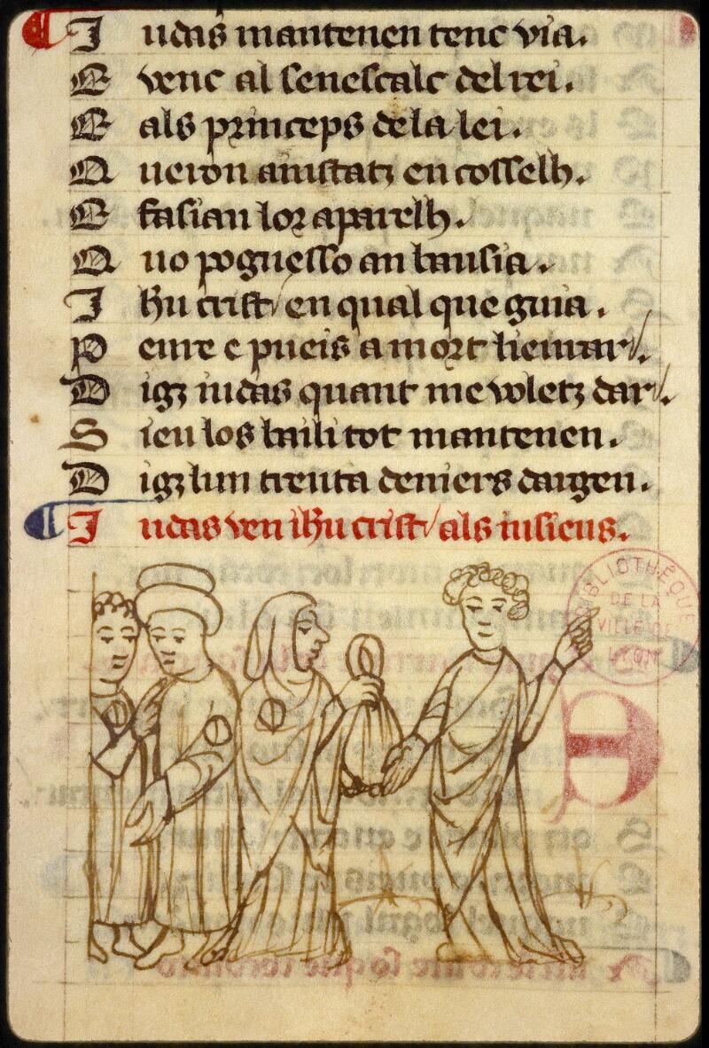 Lyon, Bibl. mun., ms. 1351, f. 149v - vue 2