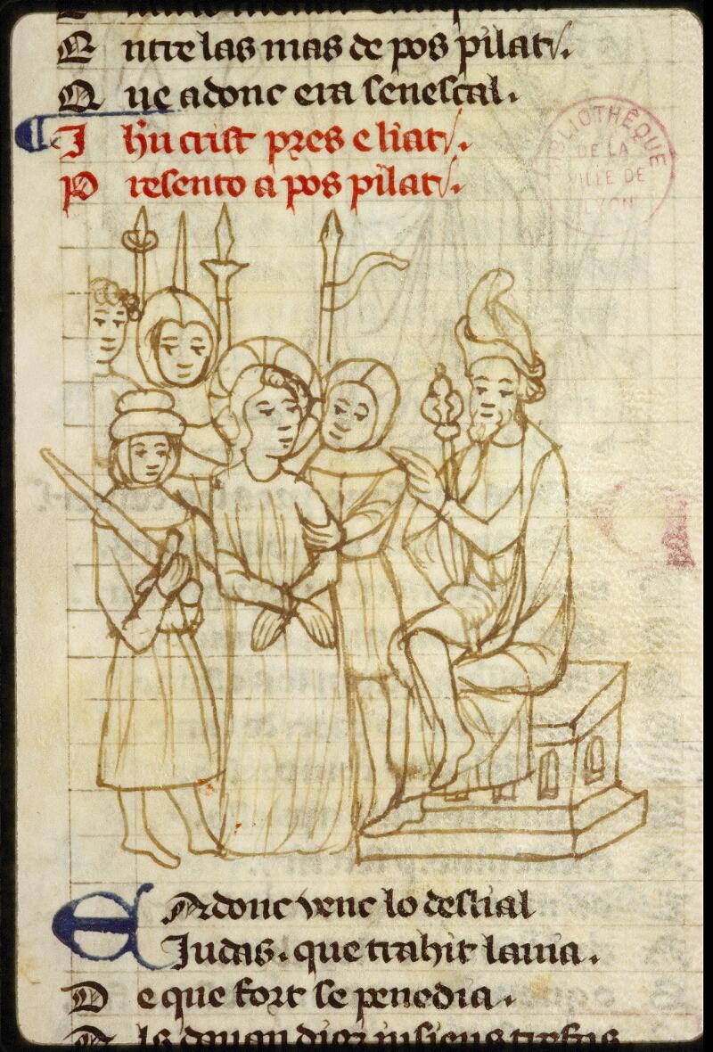 Lyon, Bibl. mun., ms. 1351, f. 152 - vue 2