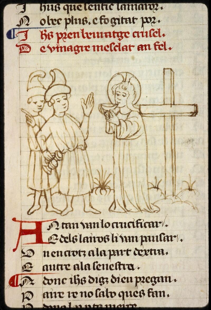 Lyon, Bibl. mun., ms. 1351, f. 154v - vue 1