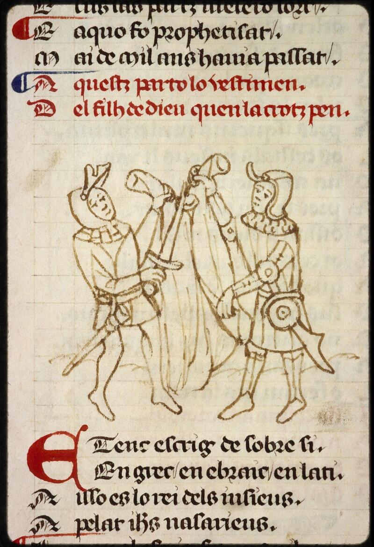 Lyon, Bibl. mun., ms. 1351, f. 154v - vue 3