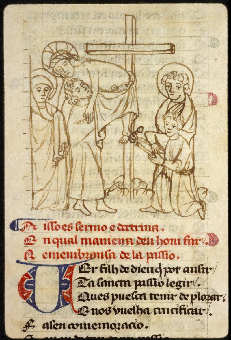 Lyon, Bibl. mun., ms. 1351, f. 156 - vue 1
