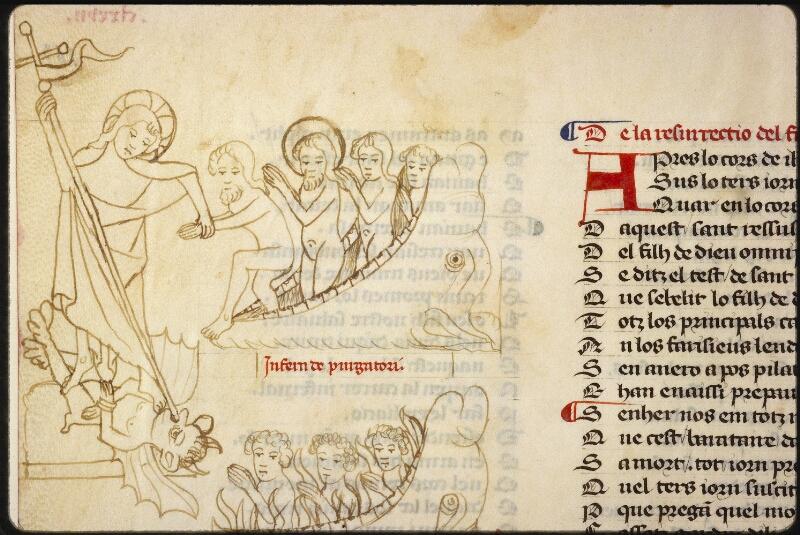 Lyon, Bibl. mun., ms. 1351, f. 163v - vue 1