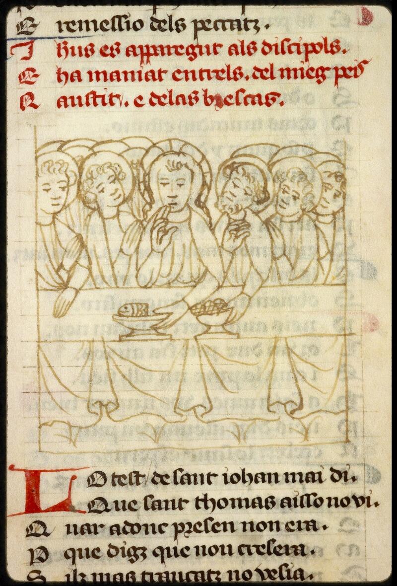 Lyon, Bibl. mun., ms. 1351, f. 165v - vue 1