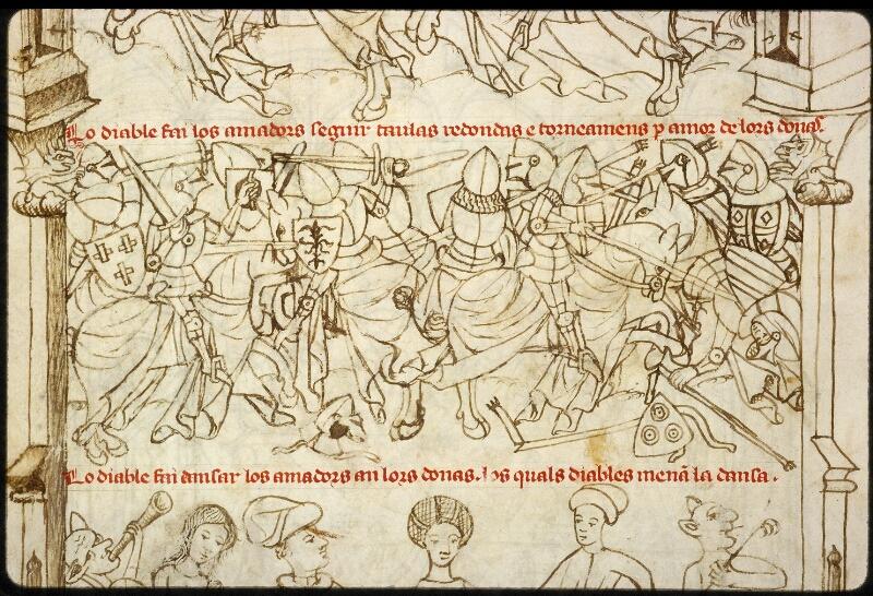 Lyon, Bibl. mun., ms. 1351, f. 182v - vue 3