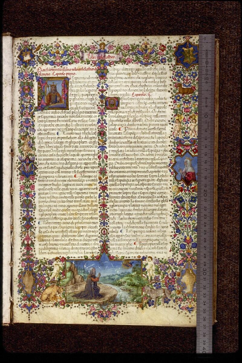 Lyon, Bibl. mun., ms. 1367, f. 001 - vue 01