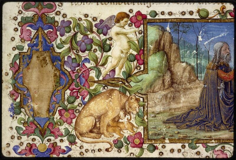 Lyon, Bibl. mun., ms. 1367, f. 001 - vue 09