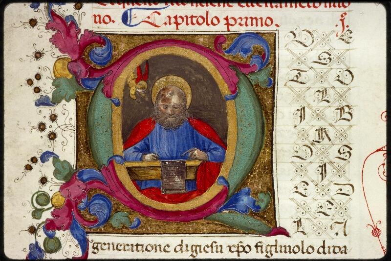 Lyon, Bibl. mun., ms. 1368, f. 001 - vue 3
