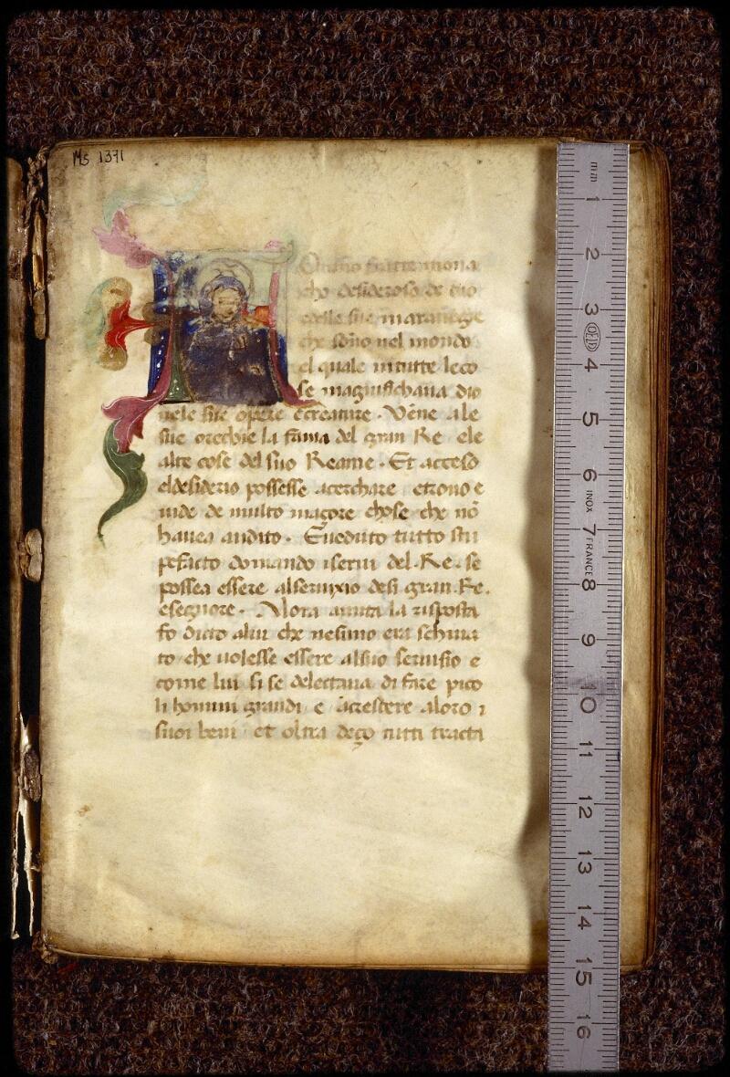 Lyon, Bibl. mun., ms. 1371, f. 001 - vue 1