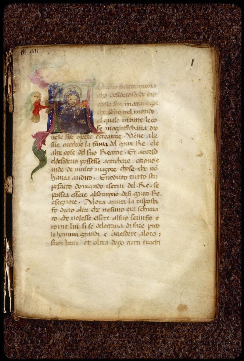Lyon, Bibl. mun., ms. 1371, f. 001 - vue 2