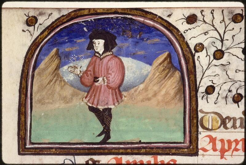 Lyon, Bibl. mun., ms. 1390, f. 003v - vue 1