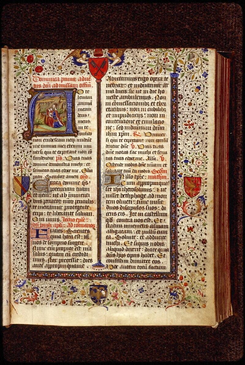 Lyon, Bibl. mun., ms. 1390, f. 008 - vue 1