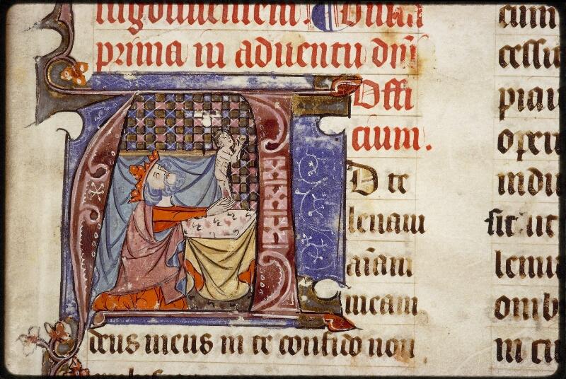 Lyon, Bibl. mun., ms. 1394, f. 009 - vue 3