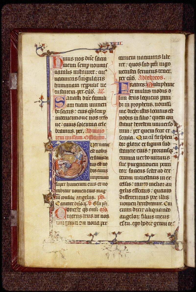 Lyon, Bibl. mun., ms. 1394, f. 024v - vue 1