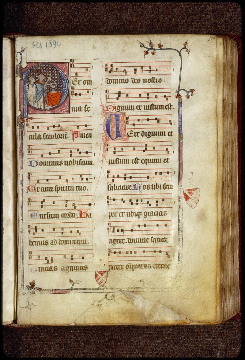 Lyon, Bibl. mun., ms. 1394, f. 180 - vue 1