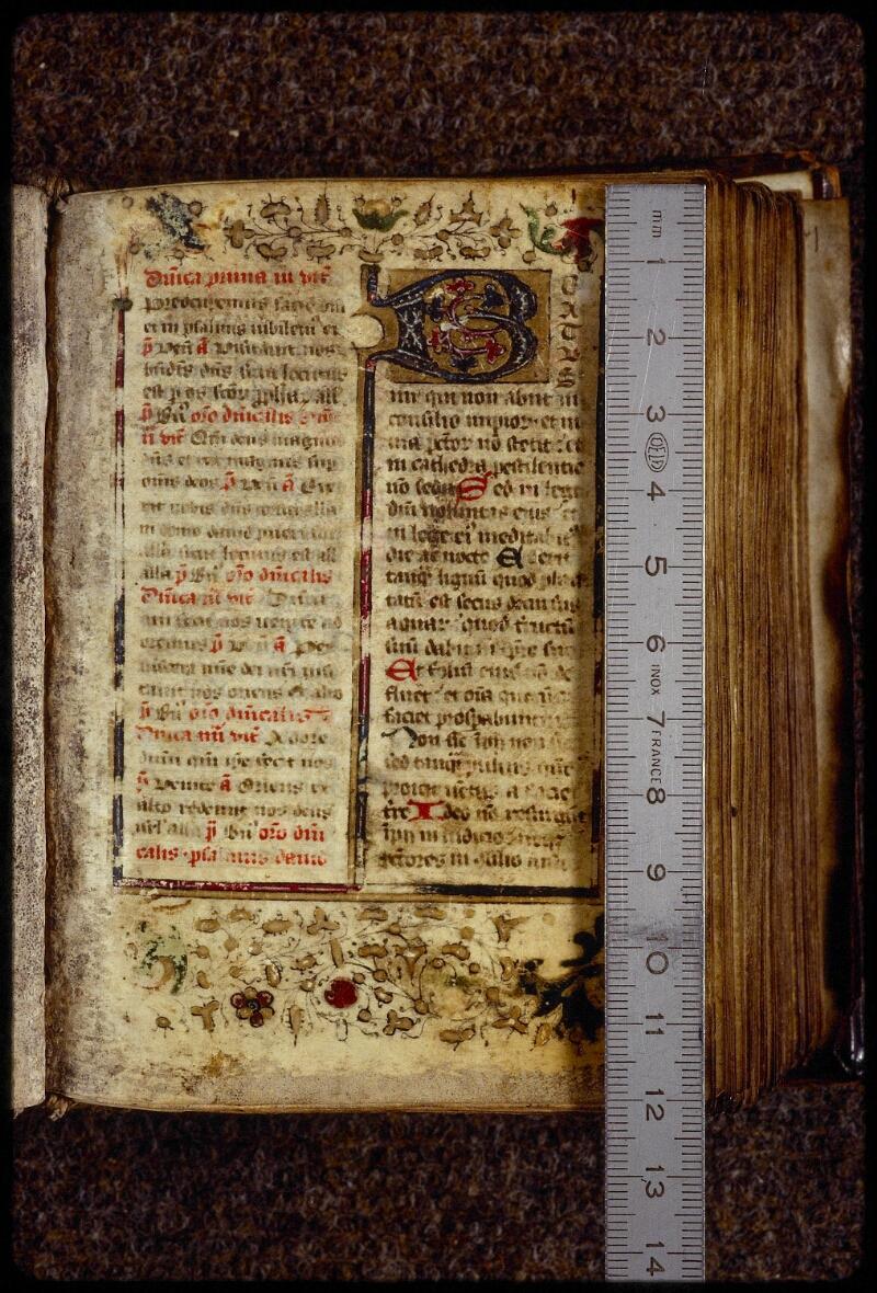 Lyon, Bibl. mun., ms. 1401, f. 001 - vue 1