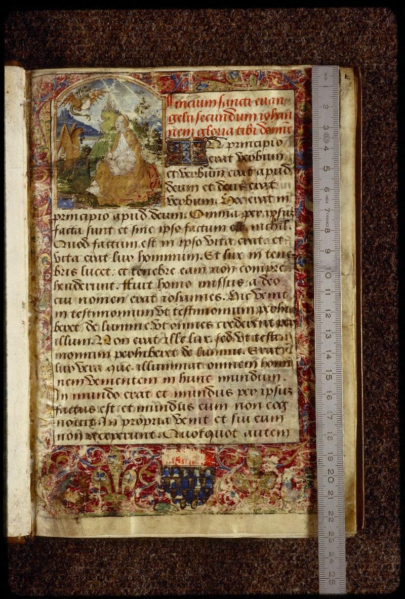Lyon, Bibl. mun., ms. 1402, f. 001 - vue 1