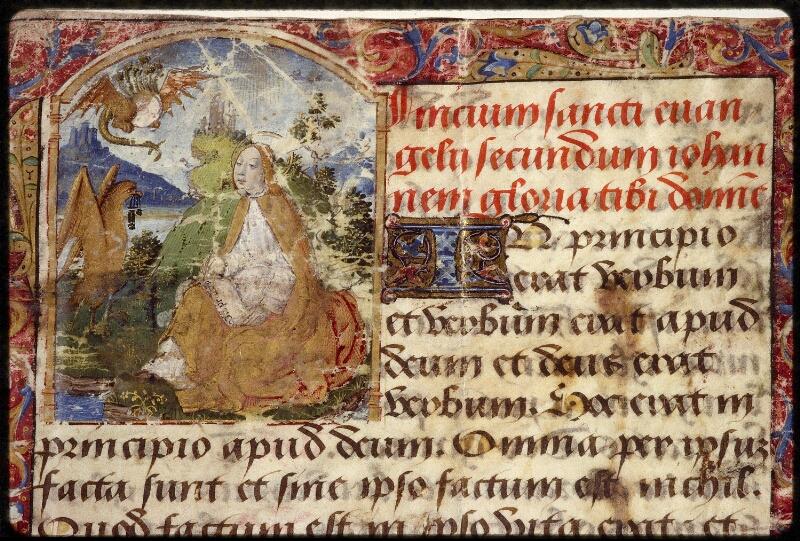 Lyon, Bibl. mun., ms. 1402, f. 001 - vue 3