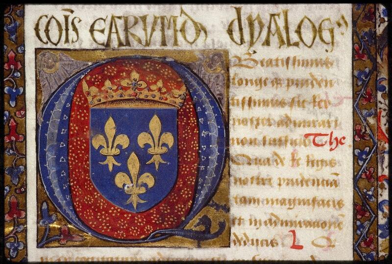 Lyon, Bibl. mun., ms. 1466, f. 001 - vue 3