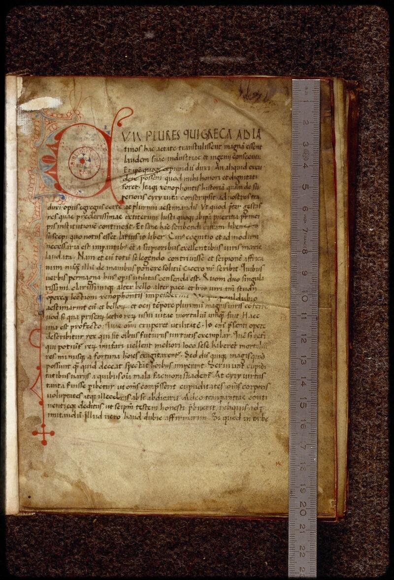 Lyon, Bibl. mun., ms. 1506, f. 001 - vue 1
