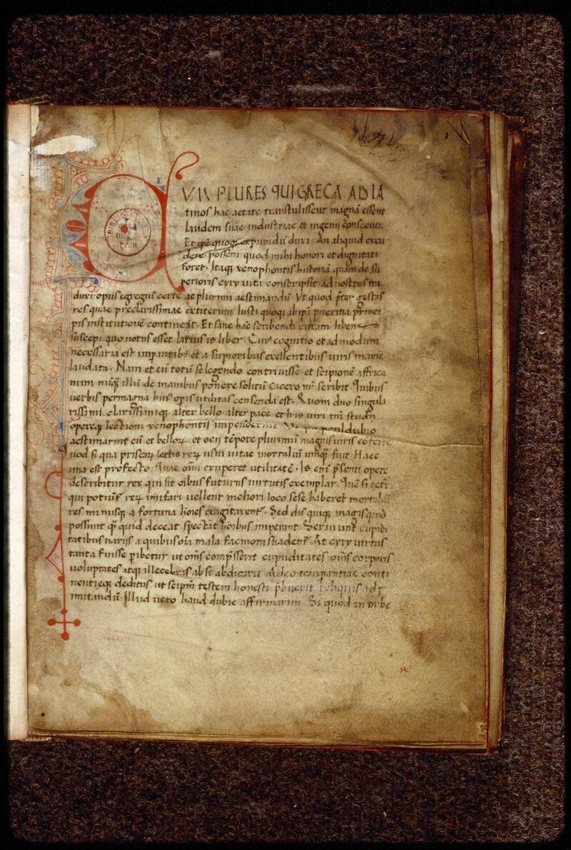 Lyon, Bibl. mun., ms. 1506, f. 001 - vue 2