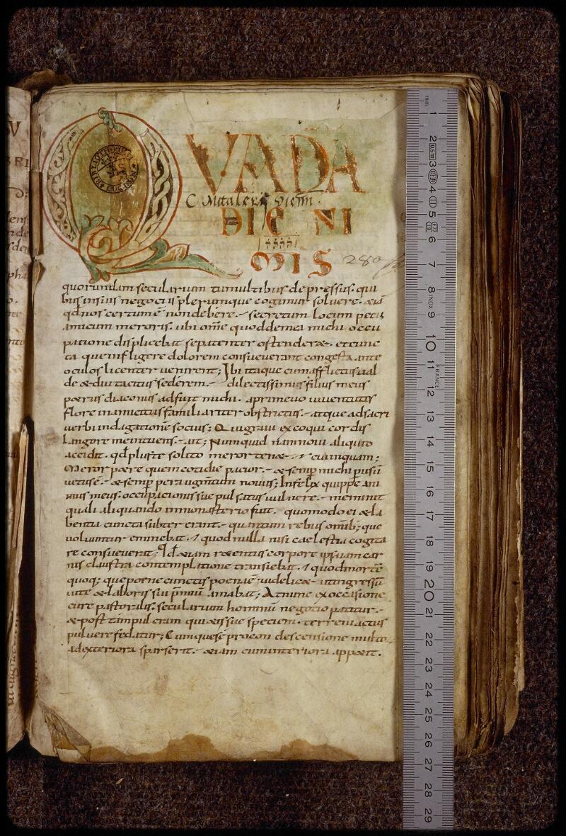Lyon, Bibl. mun., ms. 1509, f. 002 - vue 1